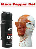 Mace Gel in the Face!